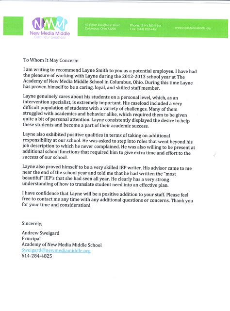 7 scholarship letter of recommendation from teacher appeal letter