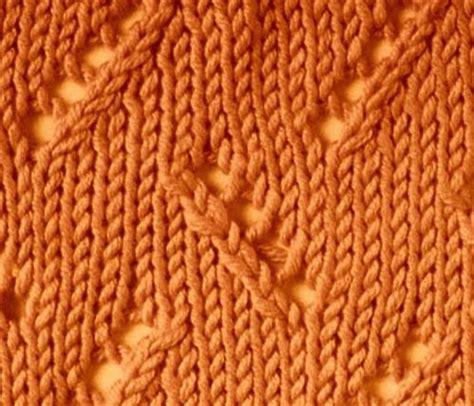 zig zag eyelet trellis pattern knitting galore saturday stitch zig zag eyelet stitch