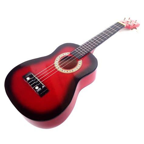 Ukulele Gitar Mainan Gambar Buah Buahan jual gitar ukulele gitar mini kentrung 4 senar ukuran 58x21x8 cm modemku mega sarana