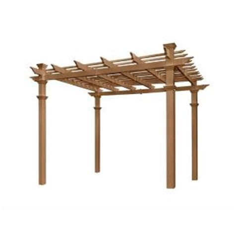 new arbors arcadia 10 ft x 10 ft cedar