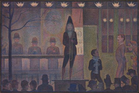georges seurat most famous paintings parade de cirque wikipedia