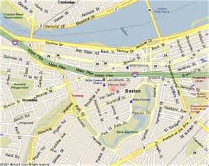 Boston Public Parking Map by Fenway Park Map Related Keywords Amp Suggestions Fenway
