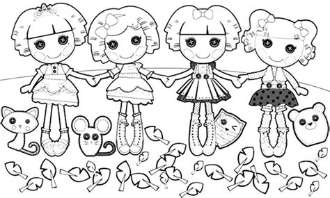 Lalaloopsy Coloring Pages Bestofcoloring Com And The Coloring Page