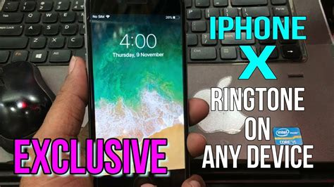 iphone x exclusive ringtone to your iphone without a computer