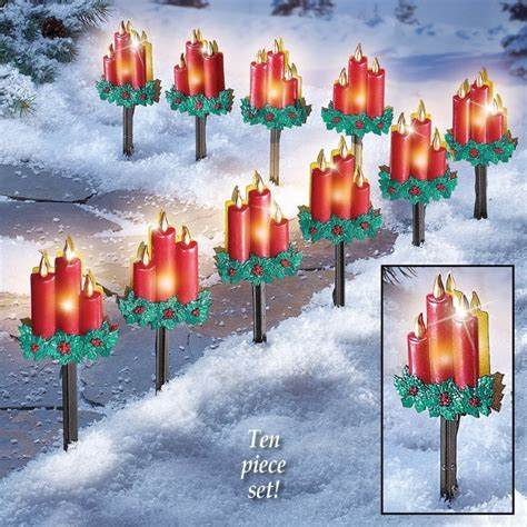 pathway christmas yard candles part 5