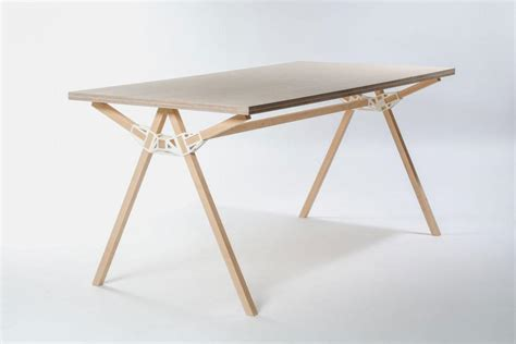 'Keystone' Connectors Make Furniture With a Single 3D