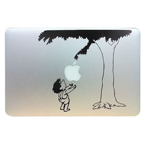 Promo Apple Mac Book 13 Decal Wave child the tree vinyl laptop skin decal fits