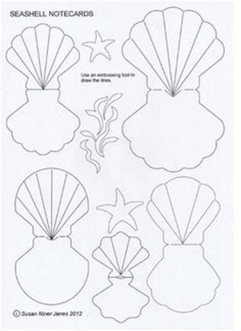 Where Can Shell Gift Cards Be Used - shell template halloween pinterest shells and templates