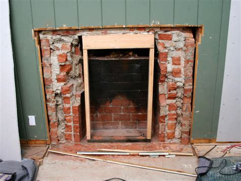 Remove Fireplace Hearth by Removing A Brick Fireplace Hgtv