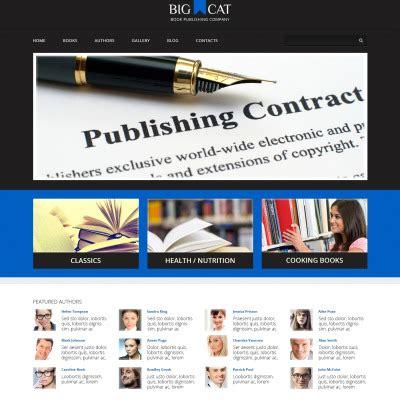 wordpress themes publishing house publishing company wordpress themes templatemonster