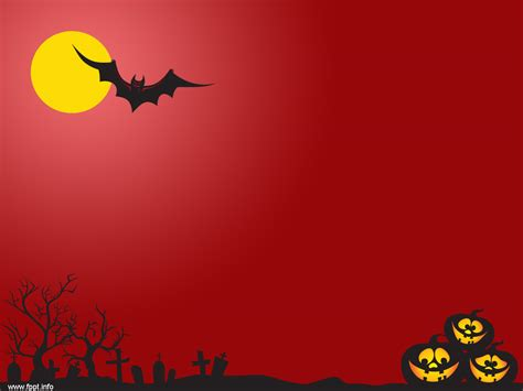 Red Night Scary Powerpoint Templates Professional Powerpoint Creepy Powerpoint Backgrounds