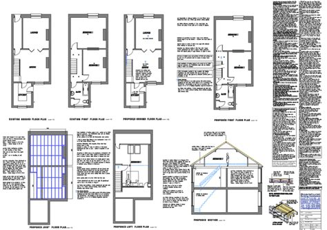 terraced house loft conversion floor plan loft plans architectural floor building plans for loft conversions dormers uk