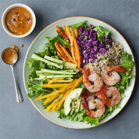salad recipe ideas spring roll salad recipe eatingwell