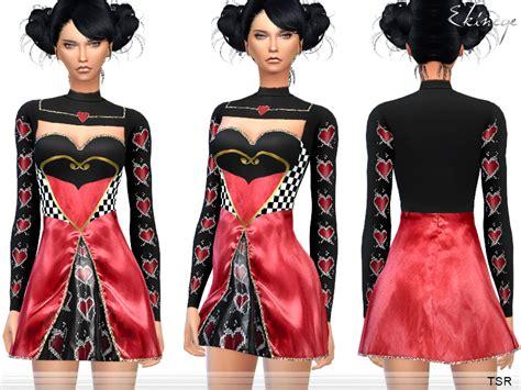 sims 4 halloween costumes ekinege s halloween queen of hearts