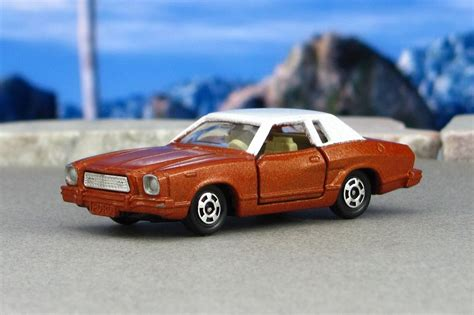 1974 ford mustang ghia 1974 ford mustang ii ghia brown f tomica by