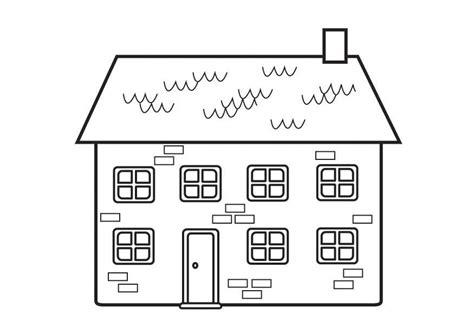 colorare casa disegno da colorare casa cat 23129