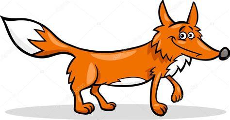 imagenes animados de zorros ilustraci 243 n de dibujos animados zorro salvaje vector de