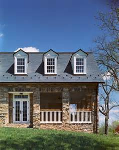 American Colonial House by Historic Stone House Preservation Middleburg Va Dc