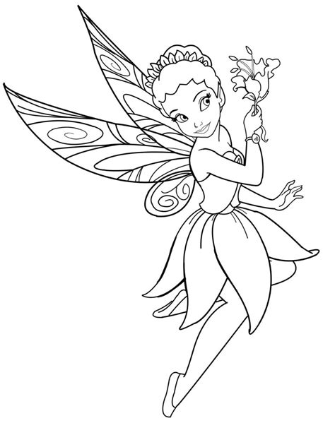 coloring book disney fairies january 2012