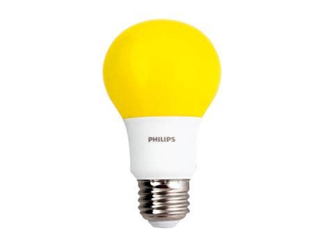 Bug Light Bulbs Led Philips Non Dimmable 8w Yellow A19 Bug Light Led Bulb Bc8a19 Led Yellow Nd 120v Bulbs