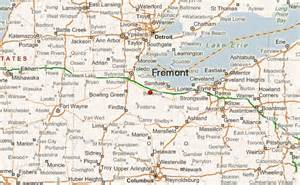 Fremont Ohio Map by Fremont Ohio Location Guide
