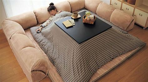 heated comforter this heated comforter with table will have you glued to