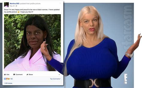 martina big dark skin botched s martina big transitions to a black woman