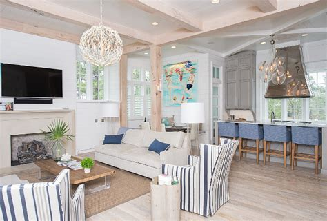 Small Living Room Ideas Beach House With Transitional Coastal Interiors Home
