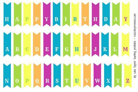 Diy Cake Happy Birthday Cake happy birthday cake banner printable lacalabaza