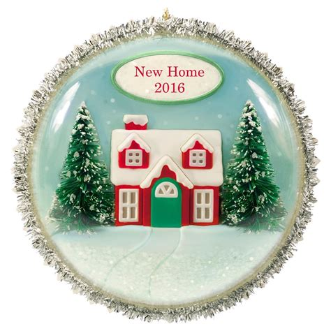 new home ornaments 2016 new home hallmark keepsake ornament hooked on
