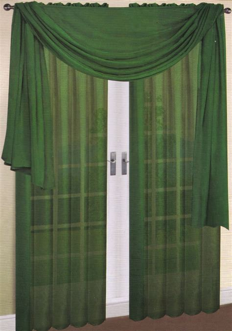 Sheer Green Curtains Green Window Curtain Panels On Sale Ease Bedding With Style