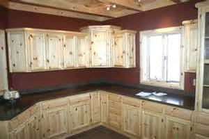 Knotty Pine Kitchen Cabinet Doors by Knotty Pine Cabinets And Kitchens