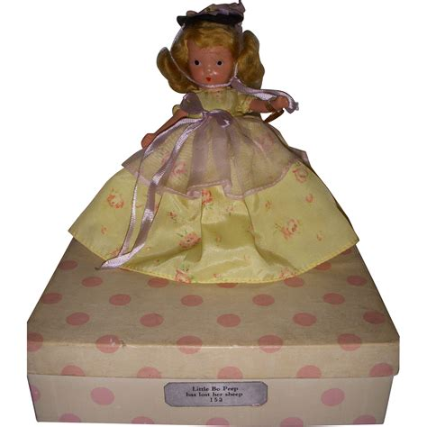 bisque storybook dolls nancy storybook doll bisque quot bo peep quot boxed