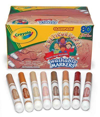 crayola skin color crayola doesn t understand the meaning of multicultural