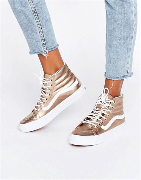 Sepatu Vans Rihanna vans vans sk8 exklusive hohe sneaker in ros 233 gold