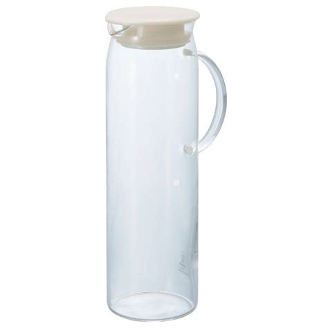 glass pitcher with lid hario heat resistant glass water pitcher with lid 1000ml hdp 10pw japan f s ebay