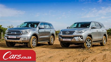 ford vs toyota toyota fortuner vs ford everest in depth comparison
