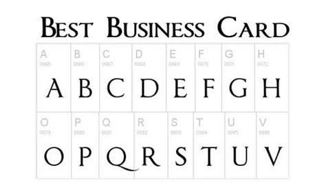 business letters font business letter best font 28 images 10 free fonts for