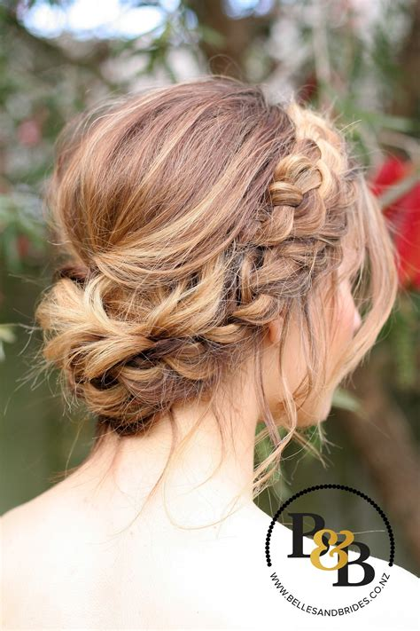 wedding hairstyles how to wedding hair with braid bridal updo bridesmaids