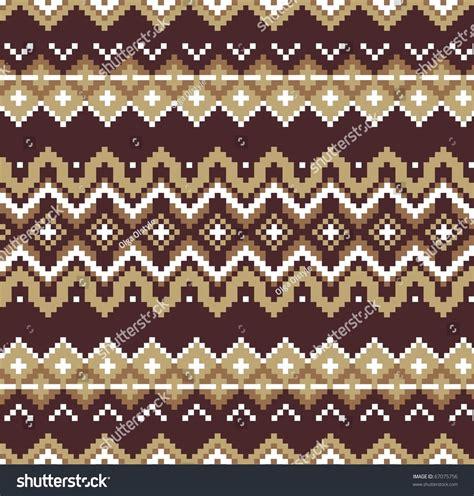 jacquard pattern vector seamless jacquard knit vector stock vector 67075756