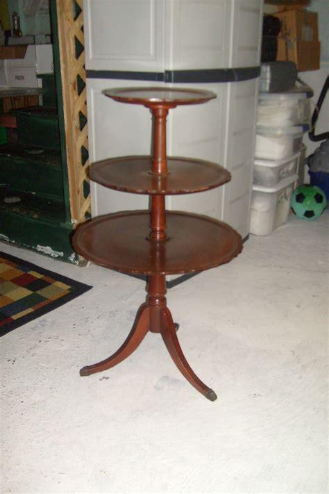 3 Tier Table Tea Pie Server 1940s For Sale Antiques Com