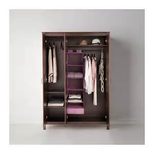 ikea kleiderschrank brusali brusali wardrobe with 3 doors brown 131x190 cm ikea