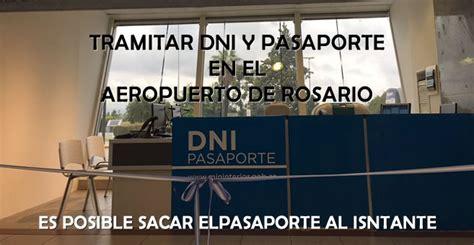 sacar turno para tramitar dni y pasaporte en buenos aires tramitar dni y pasaporte en aeropuerto de rosario econoblog