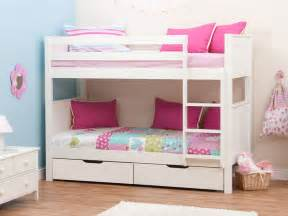 bunk beds for girls on sale stompa classic kids white girls bunk bed stompa bunk beds
