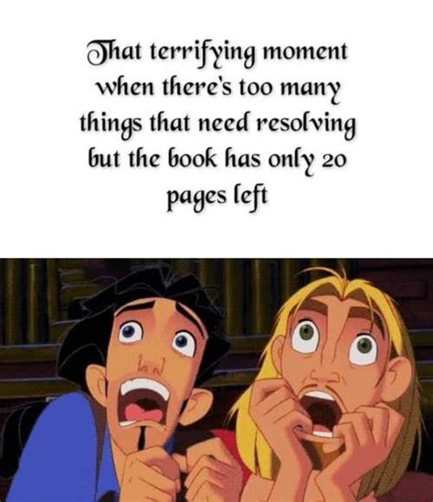 Buy All The Books Meme - 17 things you ll relate to if you find cliffhangers unbearable