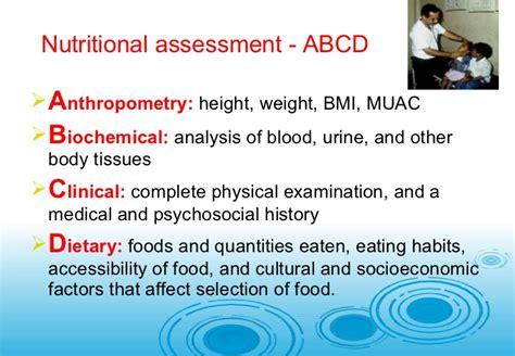 template of nutritional status mannan 6b anthropometricand nutritional status indicators