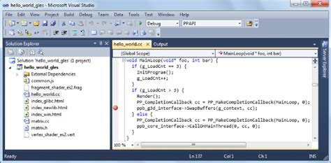 debugging with visual studio chrome