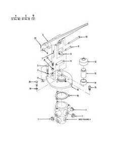 Air Brake System Treadle Valve Figure 136 Air Brake Treadle Valve Assembly And Mounting