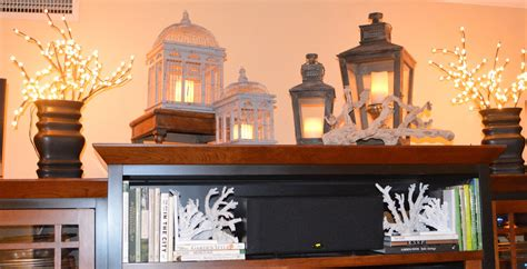 Decorating Ideas Top Of Entertainment Center Friendship And Style Still Going Coastal Part Ii