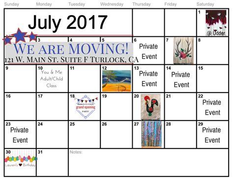 paint nite turlock calendar